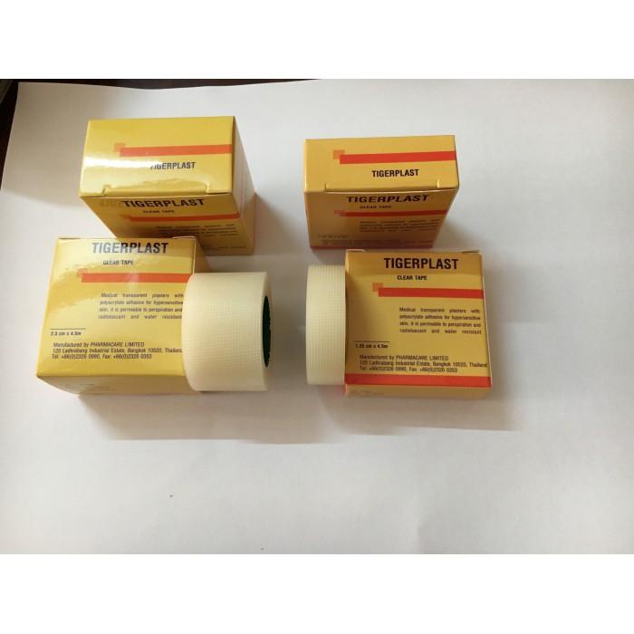 Băng keo cuộn nhựa trong Tigerplast Clear tape