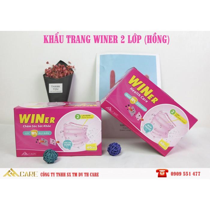 Khẩu trang y tế Winer 2 Lớp chống thấm nước