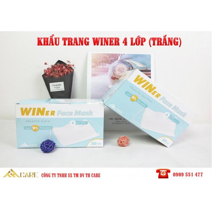 Khẩu trang y tế WINER 4 Lớp