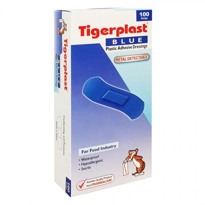 Băng keo cá nhân dùng trong nhà máy chế biến thực phẩm Tigerplast blue detectable